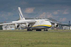 An-124 Ruslan v Mošnově