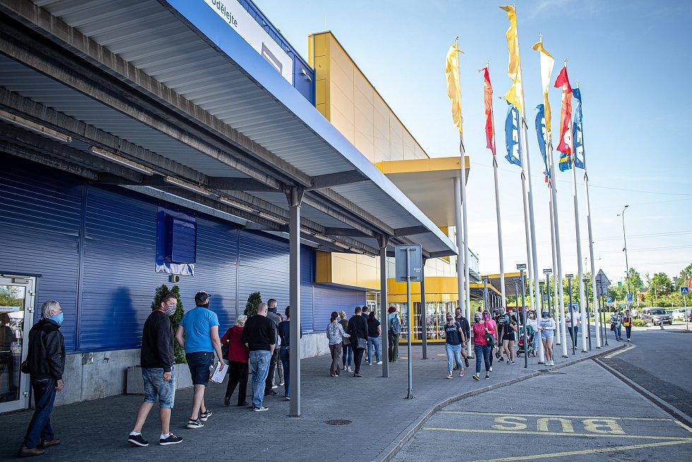 Obchodní centrum Avion Shopping Park Ostrava v době covidové. Ilustrační foto.
