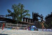 Turnaj Světového okruhu v plážovém volejbalu, 21. června 2018 v Ostravě.