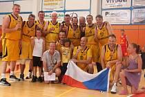 Basketbaloví veteráni získali bronz na MS v Itálii.