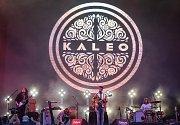 Hudební festival Colours of Ostrava 2018 v Dolní oblasti Vítkovice, 19. července 2018 v Ostravě. Na snímku kapela Kaleo.