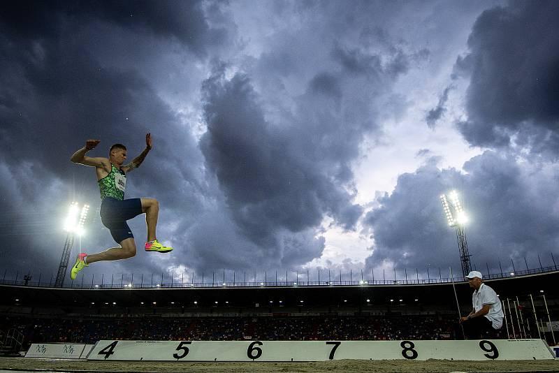 Zlatá tretra, atletický mítink IAAF World Challenge, 20. června 2019 v Ostravě. Na snímku Radek Juška.
