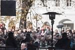 Třetí a poslední den návštěvy Moravskoslezského kraje prezident republiky Miloš Zeman zakončil ve Frenštátě pod Radhoštěm.