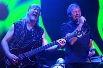 Koncert legendární kapely Deep Purple v Ostravě.