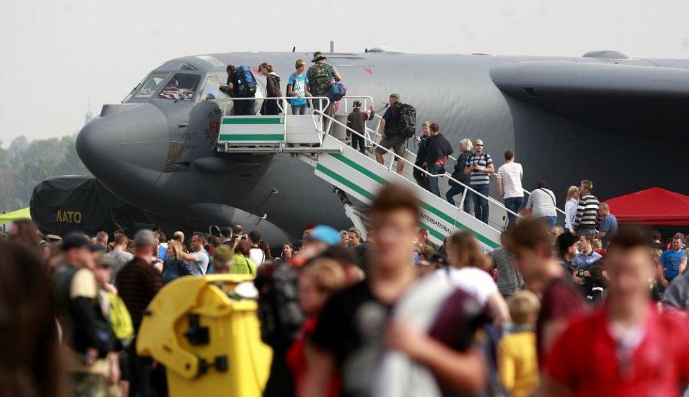 Dny NATO 2015 na ostravském letišti v Mošnově.