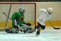 Ostravská hokejová škola si klade za cíl pomoci mladým hráčům v jejich sportovním růstu.