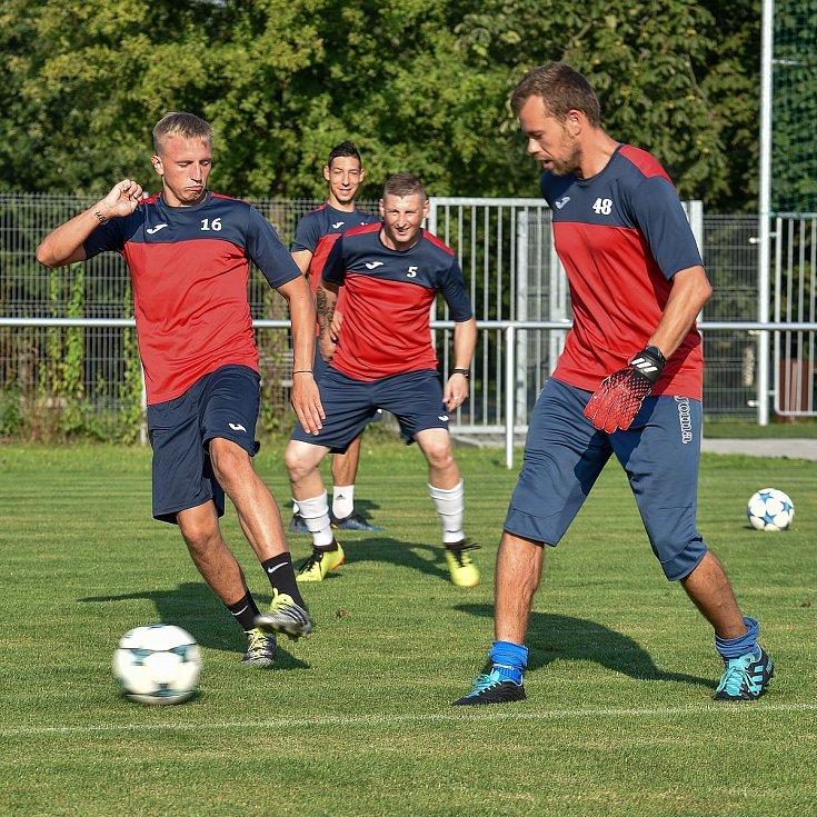 Fotbalový klub TJ Unie Hlubina, 7. srpna 2020 v Ostravě.