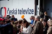 Den otevřených dveří v ČT studio Ostrava, 8. května 2019 v Ostravě.