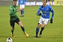 Baník v Příbrami využil přesilovku, kterou hrál už od 4. minuty a vyhrál jasně 4:0.