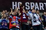Utkání předkola play off hokejové extraligy - 4. zápas: HC Sparta Praha - HC Vítkovice Ridera, 15. března 2019 v Praze.
