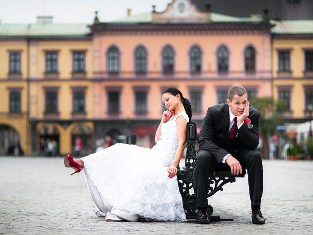 Sabina a Pavel Stillerovi, 10. 8. 2013, Český Těšín