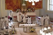 V katedrále Božského Spasitele