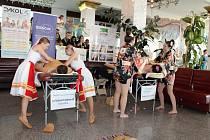 Celorepubliková soutěž žáků středních škol vmasérských dovednostech Zlatý masér.