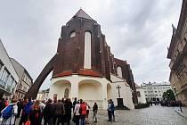 Noc kostelů v konkatedrále Nanebevzetí Panny Marie v Opavě.
