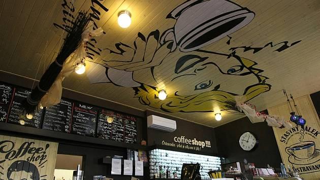 Ostravanka Coffee Shop v Milíčově ulici.