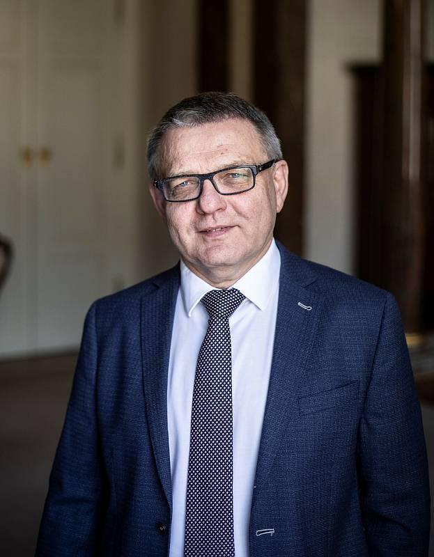 Lubomír Zaorálek na archivních snímcích Deníku.