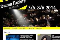 Webové stránky www.dfov.cz