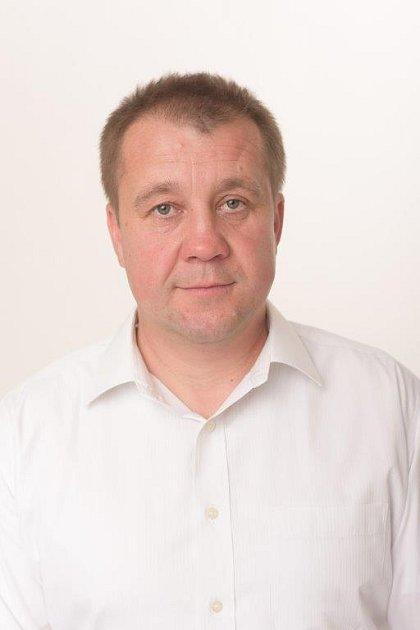 Odborář Petr Slanina.