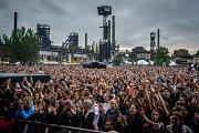 Hudební festival Colours of Ostrava 2018 v Dolní oblasti Vítkovice, 19. července 2018 v Ostravě.