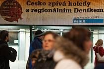 Česko zpívá koledy 2014. Ilustrační foto.