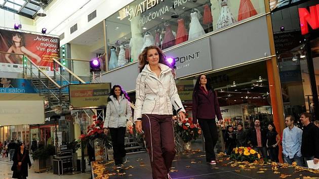 Víkend v ostravském nákupním centru se nesl v duchu módní akce Avion Fashion Show