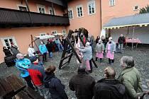 Zabijačka na zámku v Ostravě-Zábřehu