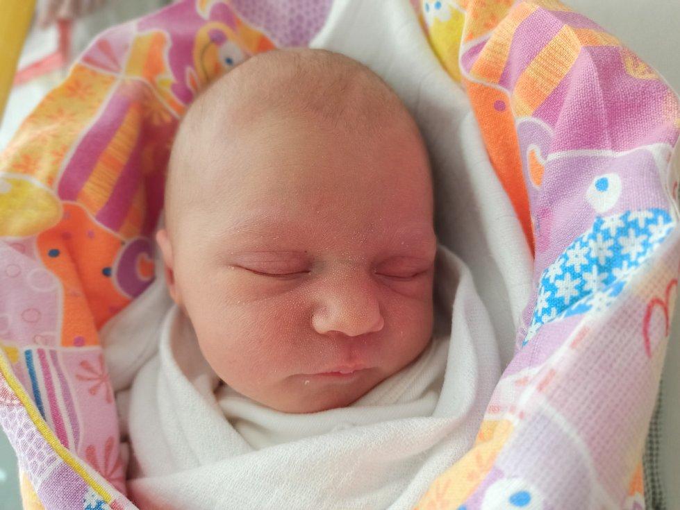 Daria Kotajná, Vendryně, narozena 10. května 2021, míra 49 cm, váha 2840 g  Foto: Gabriela Hýblová