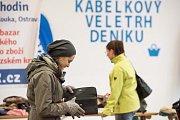 Kabelkový veletrh Deníku na výstavišti Černá louka v pavilonu A v Ostravě.