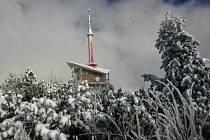 Lysá hora v zimě. Ilustrační foto.