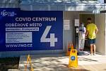 Slavnostní otevření covid centra ve Fakultní nemocnici Ostrava, 12. srpna 2020.