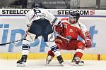 Utkání 27. kola hokejové extraligy: HC Vítkovice Ridera - HC Olomouc, 18. prosince 2019 v Ostravě. Na snímku (zleva) Jan Výtisk a Zbyněk Irgl.