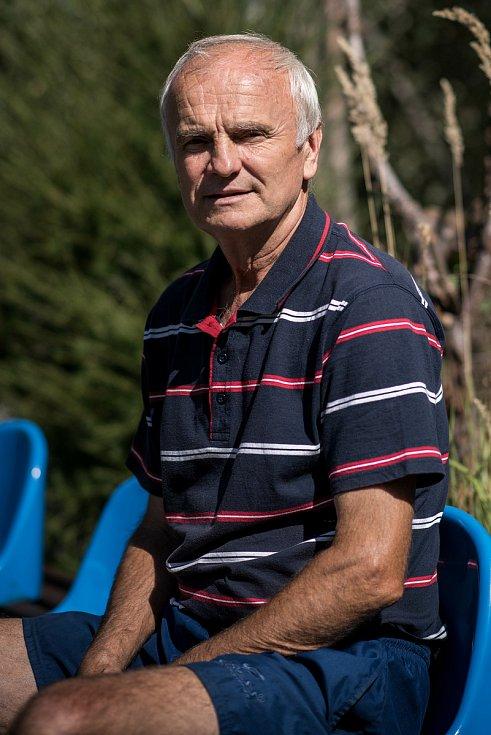 Rozhovor s Rostislav Vojáček (bývalí reprezentant ve fotbalu), snímky z Jakartovice, 30. srpna 2017