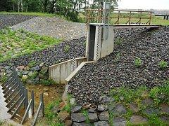 POLDR na Antošovickém potoce by měl zadržet až stoletou vodu.