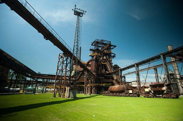 Colours of Ostrava 2013.Stavební přípravy jsou vplném proudu