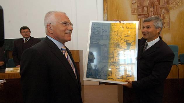Václav Klaus na Ostravsku