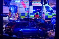 Nehoda si vyžádala čtyři zranění.