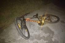 Mladíci ukradli ve Vítkovicích kolo u rodinného domu.
