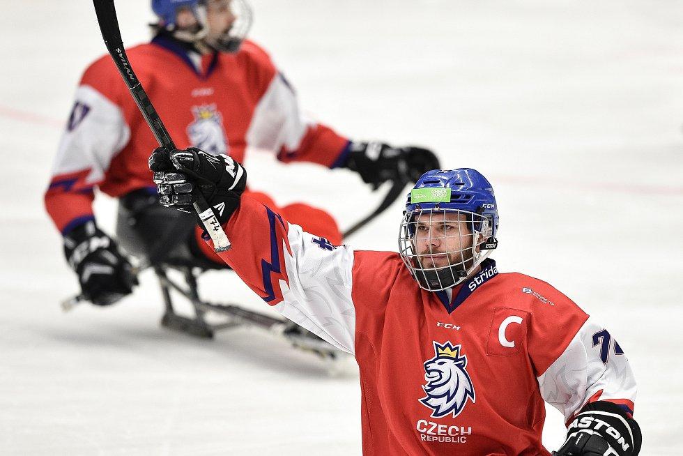 Mistrovství světa v para hokeji 2019, Švédsko - Česká republika, 28 dubna 2019 v Ostravě.