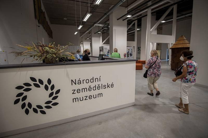 Národní zemědělské muzeum Ostrava v Dolní oblasti Vítkovice, zaří 2020 v Ostravě.