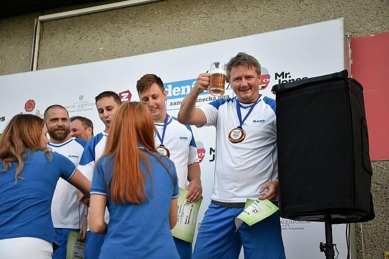 Zaměstnanecká liga Deníku, 22. září 2020 v Palkovicích. Tým Blanco Professional.