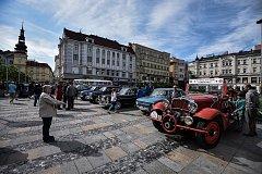 17. ročník Memoriálu Františka Procházky a sraz italských automobilů v centru Ostravy.