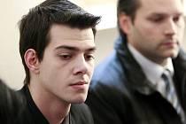 Nikolas Agoratsios na snímku u ostravského soudu.