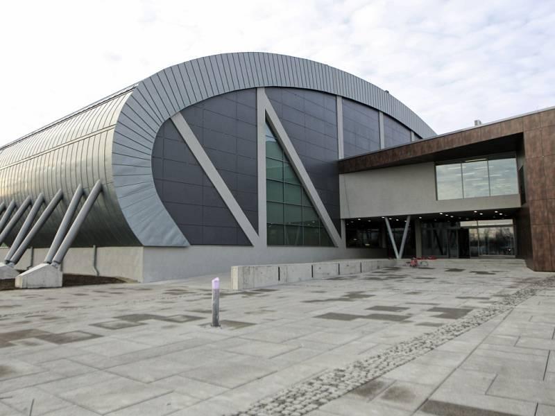 Nová ostravská atletická hala. Její stavba stála 337 milionů korun.