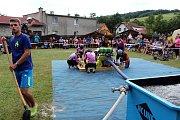Hřiště v Lukavci, místní části Fulneku patřilo ve středu 5. července hasičům a 31. ročníku hasičských závodu Terénní vlna.