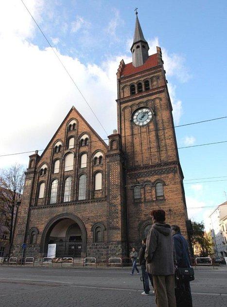 Evangelický kostel v Ostravě