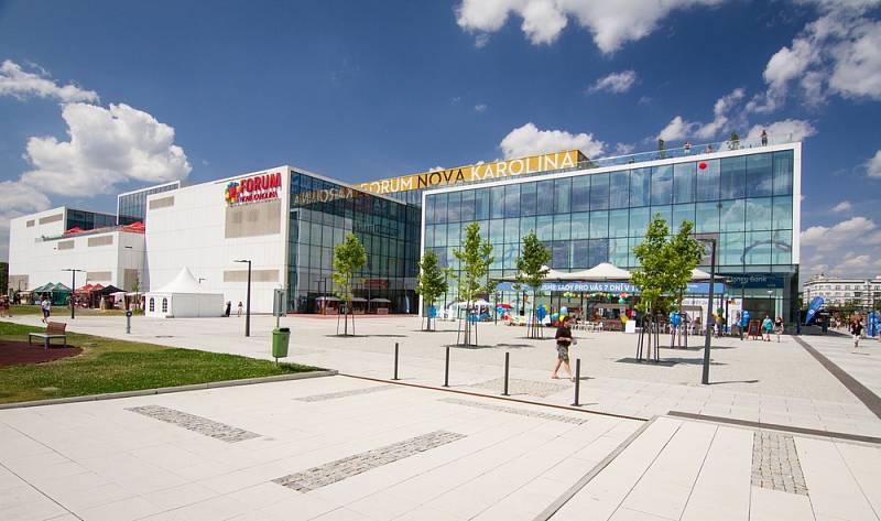 Ostravské obchodní centrum Forum Nová Karolina