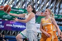 Bonver Ženská basketbalová liga - 20. kolo: Ostrava - Praha 58:72