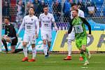 Utkání 25. kola první fotbalové ligy: FC Baník Ostrava - FK Mladá Boleslav, 16. března 2019 v Ostravě. Na snímku (vpravo) Muris Mešanovic.