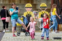Den dětí u Malého světa techniky U6 v DOV, 1. června 2019 v Ostravě.