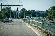 Oprava silnic, 12. června 2019 v Ostravě. Na snímku ulice Českobratrská.